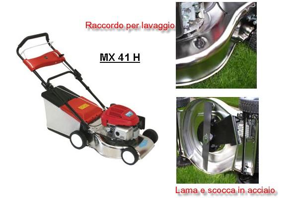 High Quality Rasaerba Marinox 41H A Spinta. Motore 4 Tempi Honda Funzionante A Benzina  Verde, Scocca In Acciaio INOX 18/8 Che Garantisce Maggiore Resistenza Agli  Urti E ...