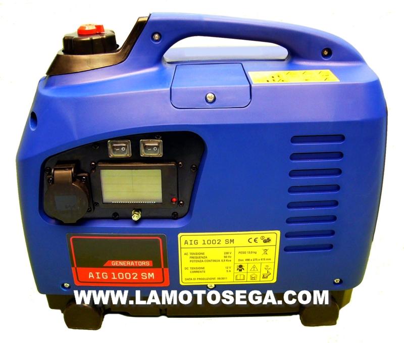 Generatori portatili gruppi elettrogeni inverter for Generatore di corrente con avviamento automatico